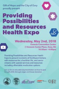 Gift of Hope City of Gary MAY 2018 HEALTH EXPO